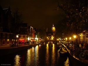 Canals at Night: Amsterdam